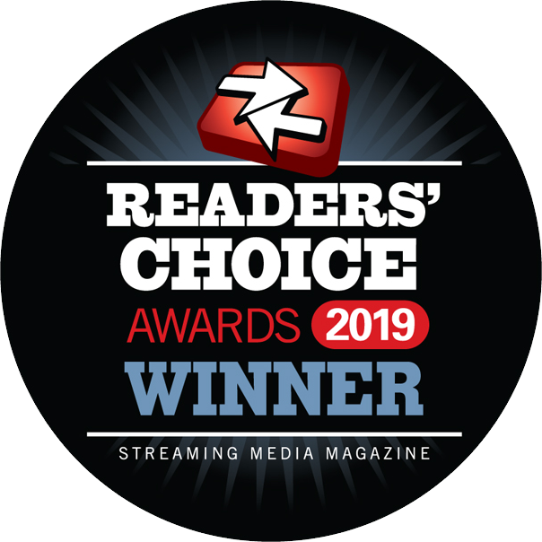 2019 Streaming Media Readers Choice Award Winners